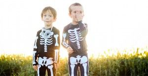 Disfraz infantil Halloween esqueleto