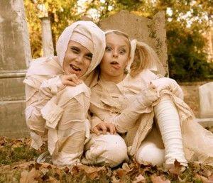 Disfraz infantil Halloween momia
