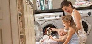 Tareas del hogar con niños