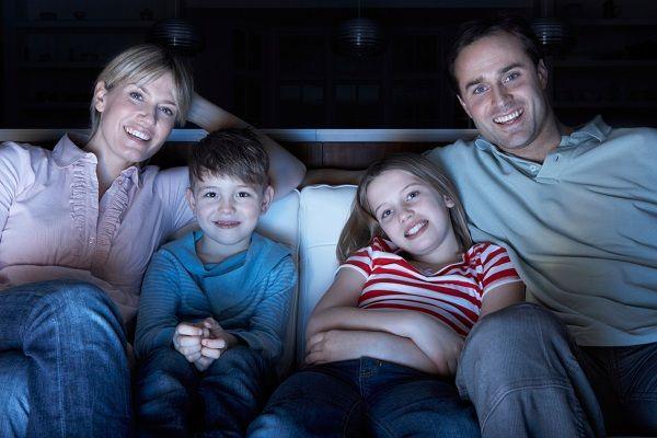 ver cine en familia
