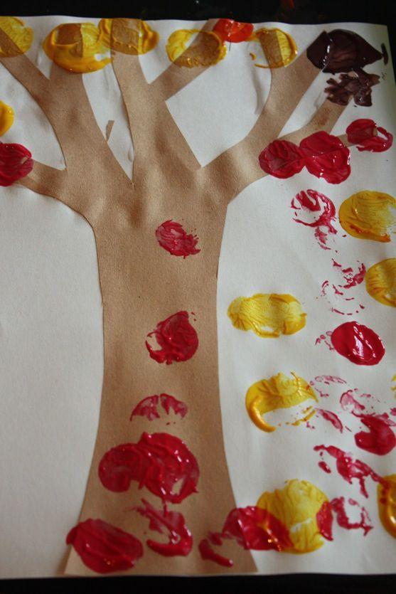 Autumn-Cork-Painting otoño