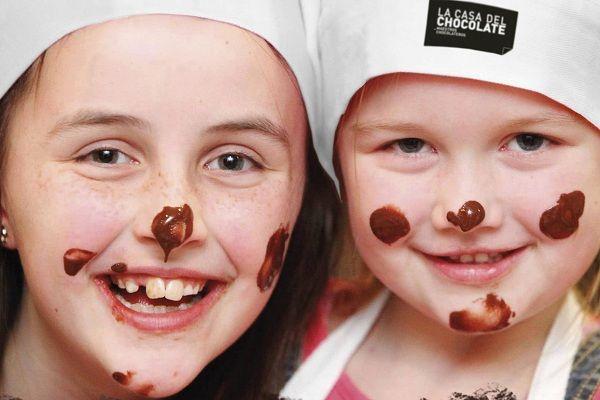 beneficiso del chocolate en los pequeños