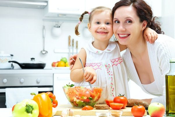cena saludable niños