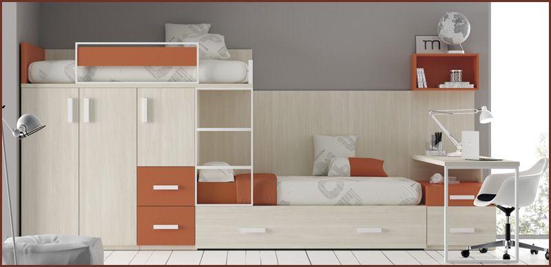 Comprar un dormitorio para trillizos o habitación para tres ...